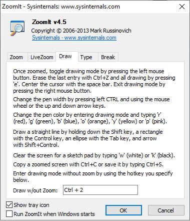 Zoomit-window